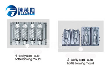 Professional Custom PET Plastic Bottle Moulds For Juice Bottle Design 3D Drawing