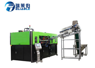 Low Energy PET Stretch Blow Moulding Machine For Hot Filling Juice Bottle